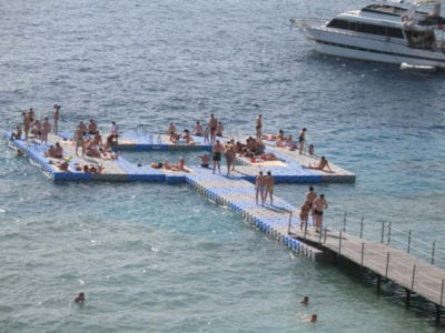Candock floating platform