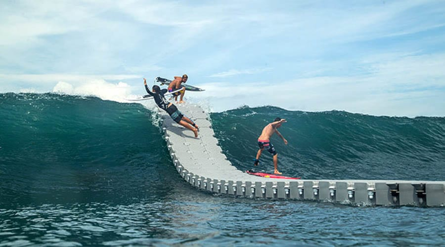 Candock Floating dock for surf