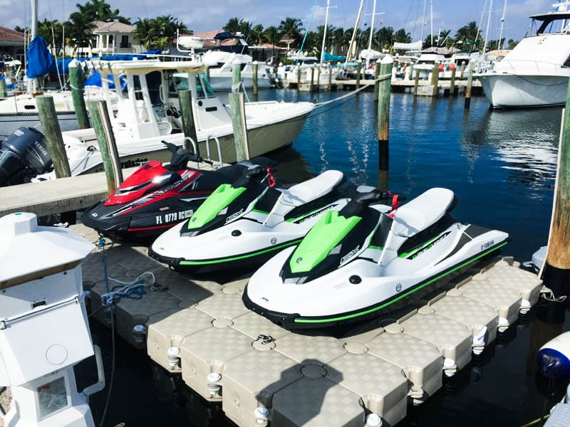 Candock Jet Ski Floating Dock