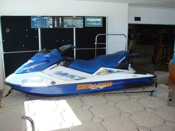 Jet Ski winch