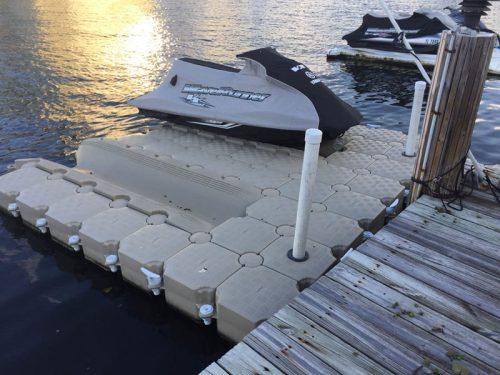 Double Jet Ski Floating Dock