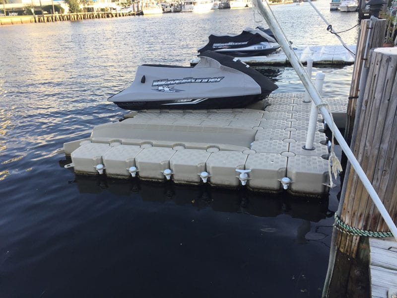 Double Jet Ski Floating Dock