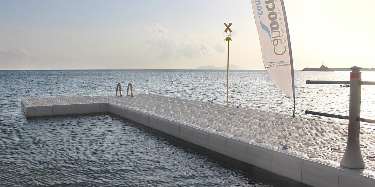 Edge Cube Floating Dock