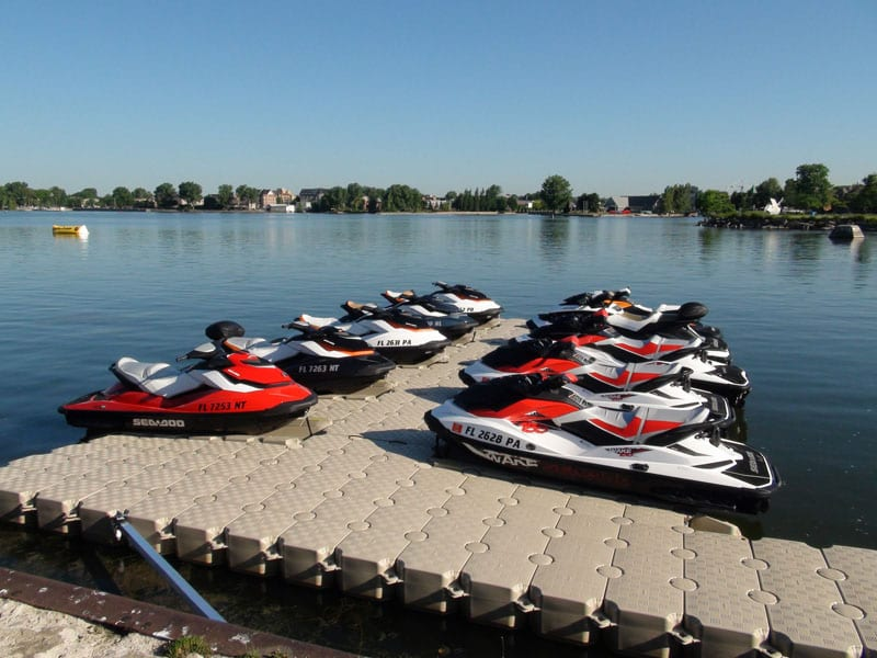 Multiple Jet Ski Dock