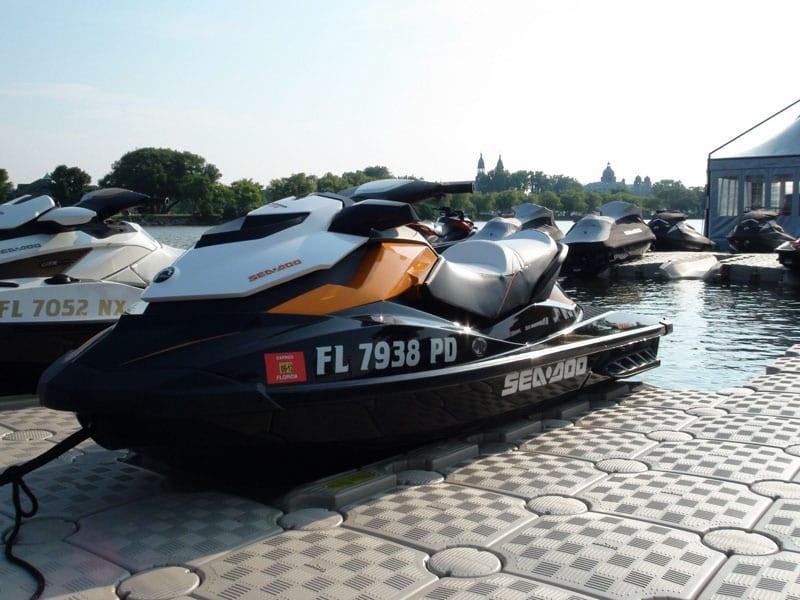 Triple Jet Ski Dock