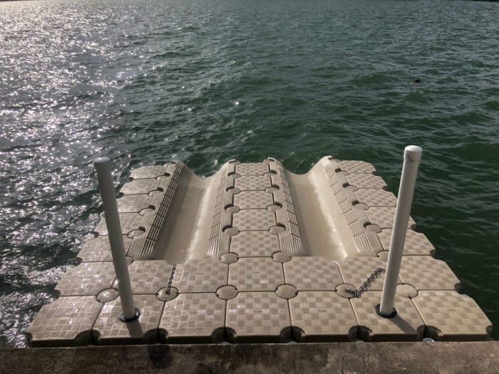 2 jet ski floating dock