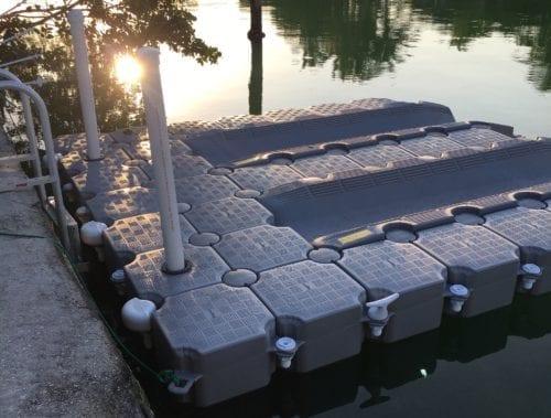 CanDOCK 2 jet skis floating dock