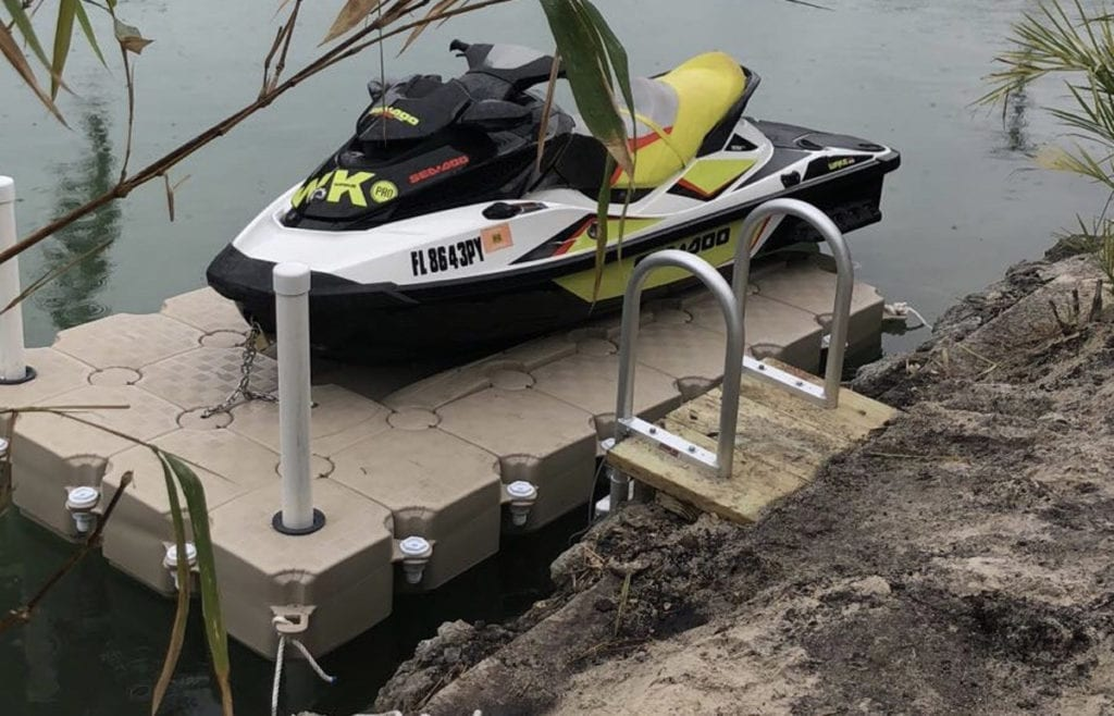 Waverunner dock