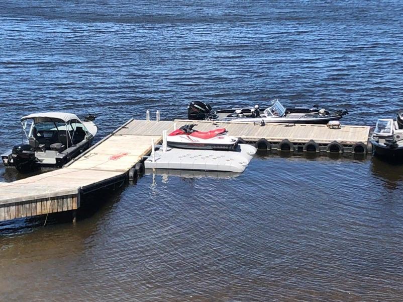 Candock JetROLL Grey 2 PWC floating docks